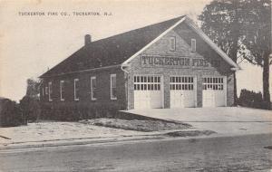 Tuckerton New Jersey~Tuckerton Fire Department Company~3 Bay Doors~1930s B&W PC