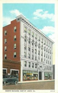 Auto 1920s Postcard Murphy Building St Louis Illinois Watson's Teich 240