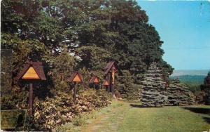 Maryknoll New York~Sisters Motherhouse~Outdoor Way Of The Cross~1950s