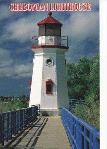 Cheboygan Lighthouse Cheboygan Michigan
