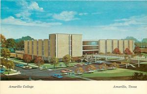 Amarullo Texas~Amarillo College~Artist Conception~1920s PC