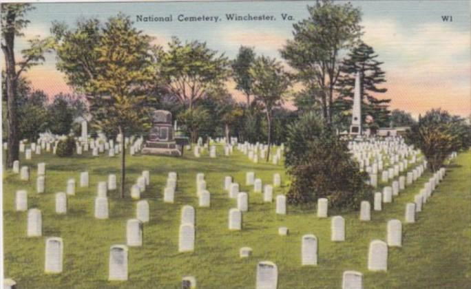 Virginia Winchester Tne National Cmetery