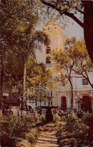 Venezuela Old Vintage Antique Post Card Cathedral of Caracas Unused