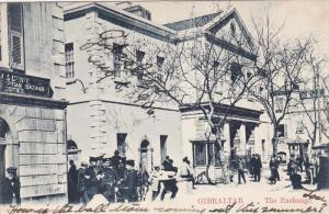 The Exchange, Partial Scene, GIBRALTAR, PU-1906
