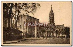 Toulouse Old Postcard L & # 39eglise Saint Sernin