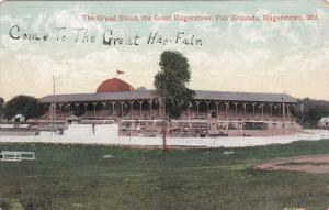 HAGERSTOWN , Maryland , 00-10s ; Grand Stand at Fair Grounds