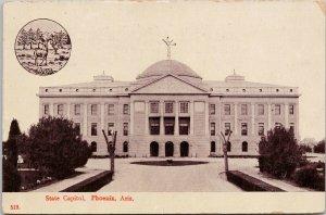 Phoenix AZ State Capitol c1908 Wheelock Postcard G28