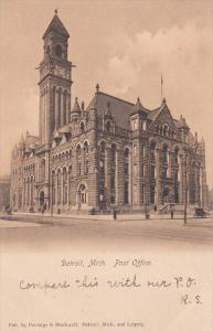 DETROIT, Michigan, 1900-1910´s; Post Office