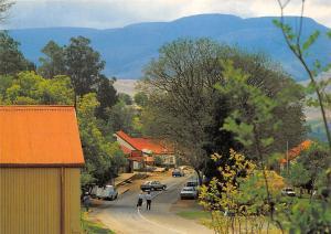 South Africa Eastern Transvaal Pilgrim's Rest Drakensberg Goldmining Cars