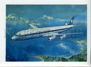d3172581 ADVERTISNG KLM's Douglas DC-8 intercontinental jet pc