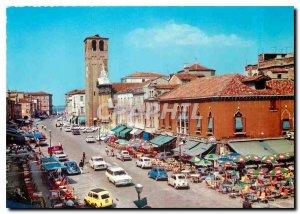 Modern Postcard Chioggia Avenue People