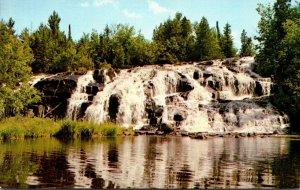 Michigan Paulding Ontonagon River Middle Branch Bond Falls