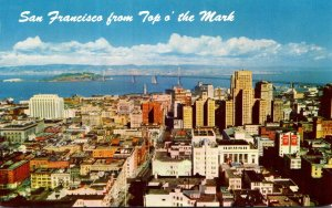 California San Francisco From Top O' The Mark 1962