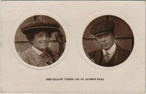 CPA Miss Ellaline Terris and Mr. Seymour Hicks THEATER STAR (42361)