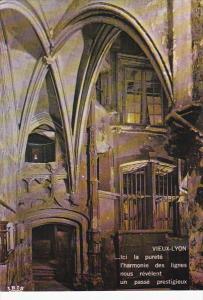 France Lyon Interieur d'une Maison Renaissance