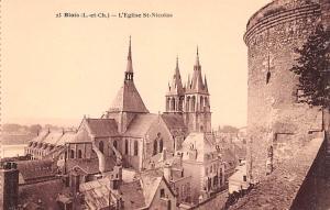 Blois France L'Eglise St Nicolas Blois L'Eglise St Nicolas