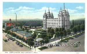 Temple Block - Salt Lake City, Utah