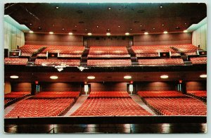 Greensboro North Carolina~Greensboro War Memorial Auditorium~Empty Seats~1950s