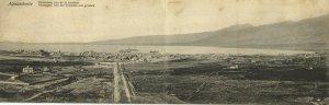 turkey, İSKENDERUN ALEXANDRETTE, Double Panorama 2x Postcard (1919)
