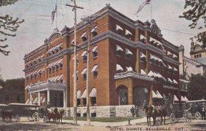 BELLEVILLE, Ontario, Canada, PU-1910; Hotel Quinte