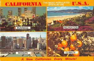 B95509 california usa multi views