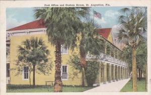 Post Office & Custom House , ST. AUGUSTINE , Florida , 00-10s
