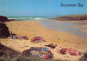 Cornwall Postcard, Treyarnon Bay, Near Padstow by J. Salmon Ltd S38