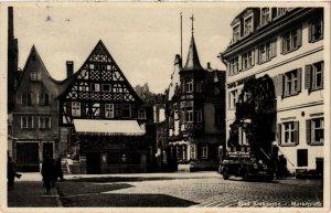 CPA AK Bad Kissingen- Marktplatz GERMANY (887568)