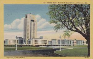Maryland Bethesda United States Naval Medical Center Curteich