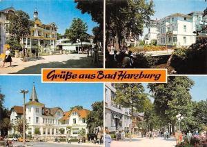 Gruesse aus Bad Harzburg, Park Promenade Kurhaus Parc Partial view