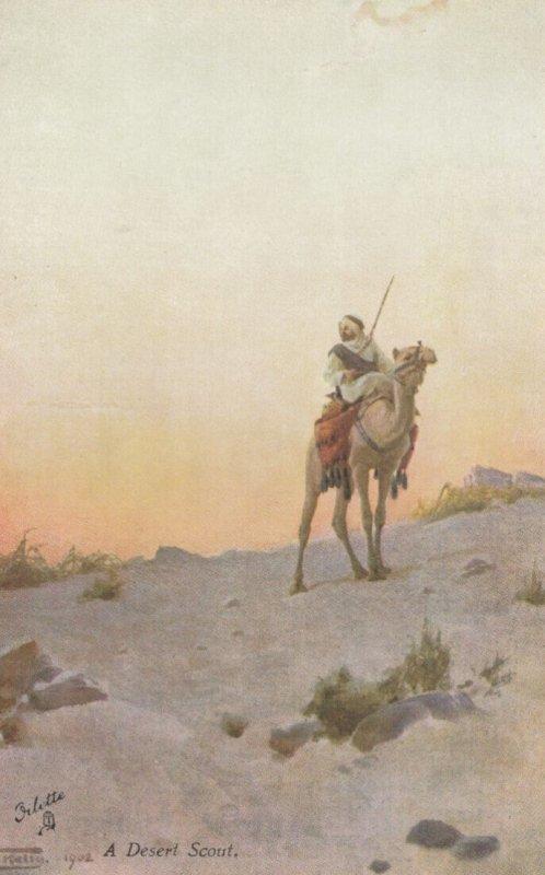 EGYPT , 00-10s , A Desert Scout : TUCK 7944