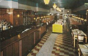 New York Courtland Community Coffee Shop Interior Main Street 1961 sk5793