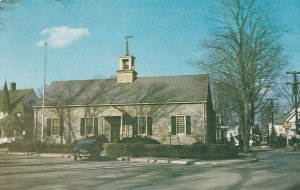 ELLENVILLE, New York, 1940-60s; United States Post Office, Classic Car