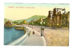 Palermo - foro Umberto 1 e Porta felice , ITALY , 00-10s