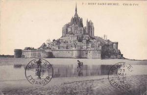 France Le Mont Saint Michel Cote de l'est 1911