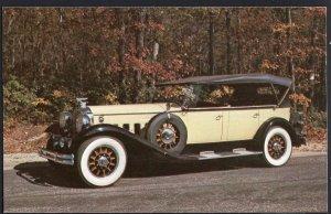 Classic Car Postcard 1929 PACKARD Super 8 Seven Passenger PHAETON