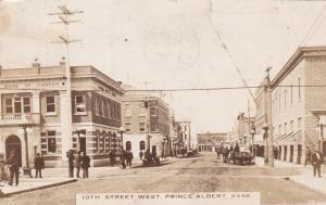 RP: 10th Street West , PRINCE ALBERT , Saskatchewan , Canada , PU-1929