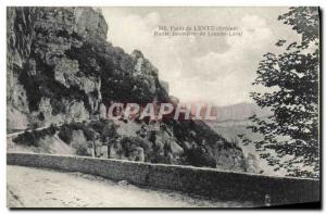 Old Postcard Drill Slow Route Forestiere Combe Laval