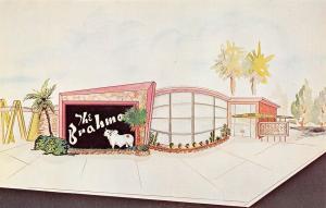 Ocala Florida~Brahma Restaurant~Lounge~Candler Reese~ART DECO Artist Conception