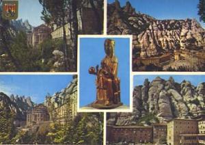POSTAL 57359: Montserrat i les seves belleses