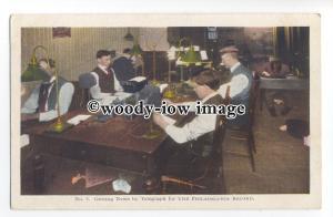 ft1648 - Telegraph Operators , The Philadelphia Record , USA - postcard