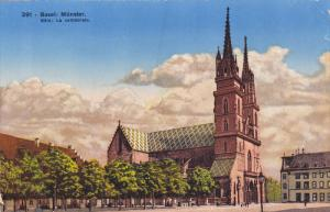 BASEL, Switzerland, 1900-1910's; Munster, La Cathedrale