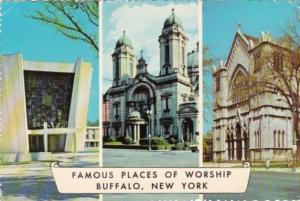 New York Buffalo Temple Beth Zion St Joseph's Cathedral & National Shrine Of ...