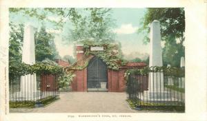 Mt Vernon Virginia~Detroit Publishing #7152 Washington's Tomb 1905 Postcard