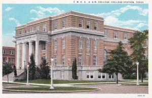 Texas College Station Y M C A Building A & M College Curteich