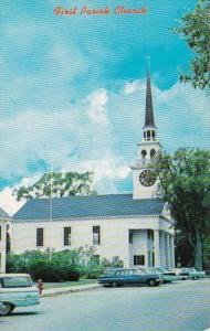 Massachusetts Billerica First Parish Church