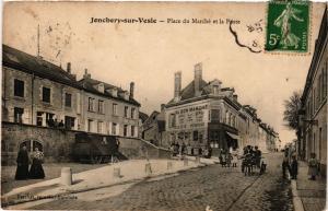 CPA JONCHERY sur VESLE - Place du Marché (364417)