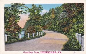 Virginia Greetings From Jetersville