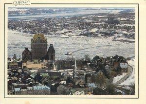 Postcard Canada Quebec scenic panoramic view