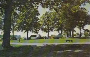 Ohio St Marys View Of State Park Camping Area Grand Lake